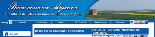 Office du tourisme d'Argonne